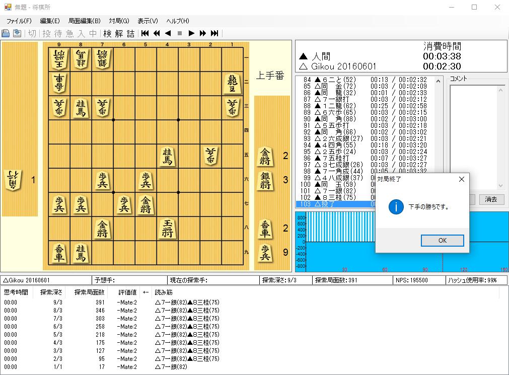 無料将棋ゲームソフト【技巧】のダウンロード方法